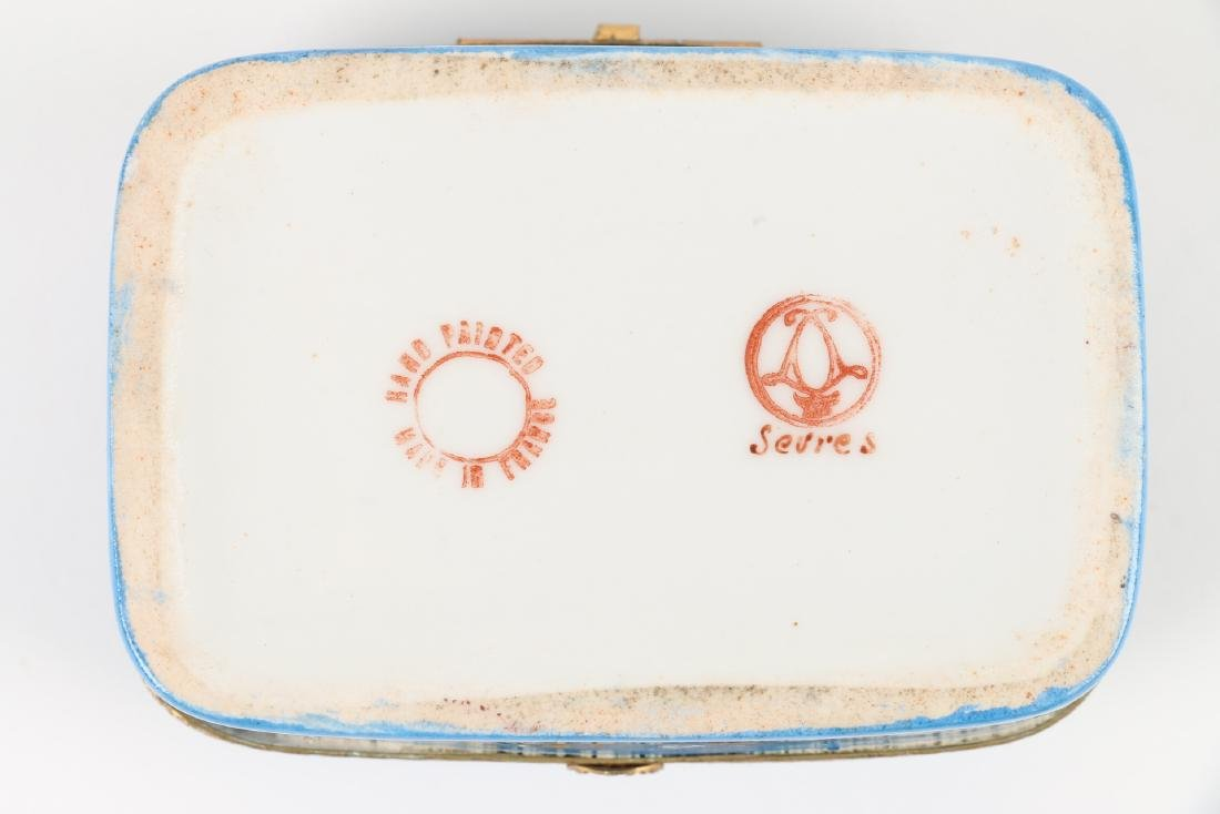 Sevres Covered Dish & Tray - 6