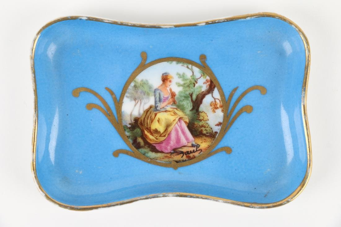 Sevres Covered Dish & Tray - 7