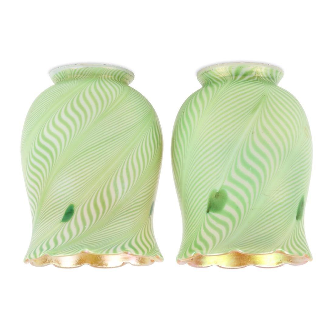 Steuben Art Glass Shades