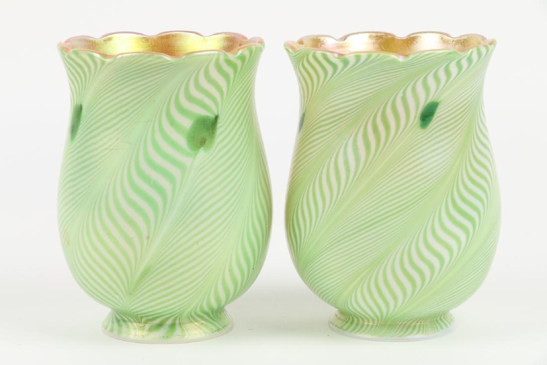 Steuben Art Glass Shades - 2