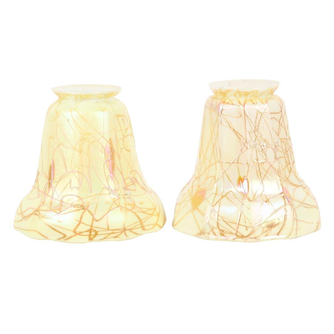 Steuben Art Glass Lamp Shades
