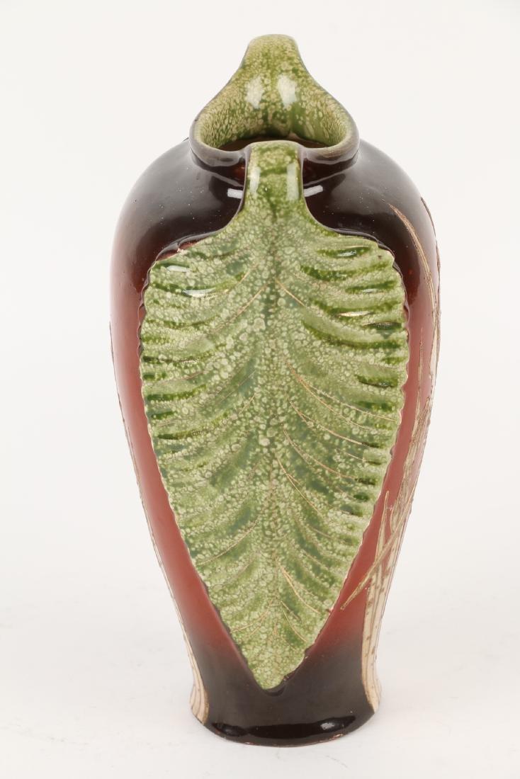 Art Nouveau Pottery Vase - 5