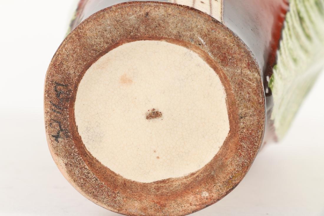 Art Nouveau Pottery Vase - 7