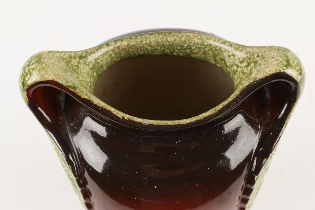 Art Nouveau Pottery Vase - 8