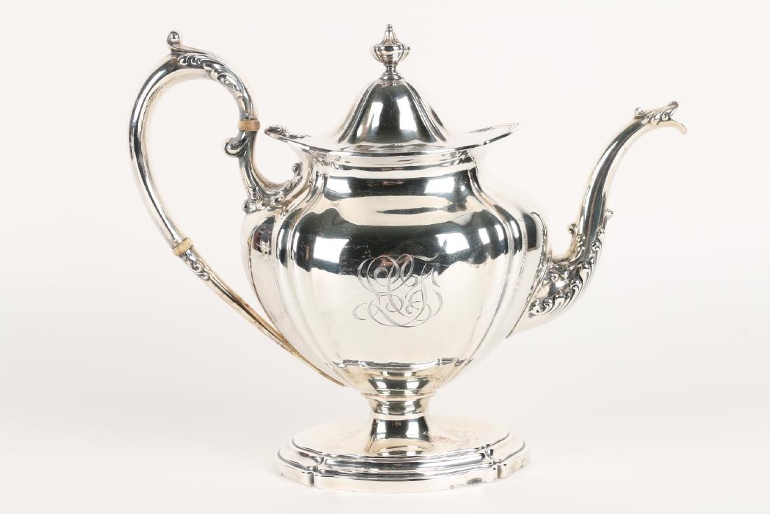 Sterling Silver Tea Service - 4