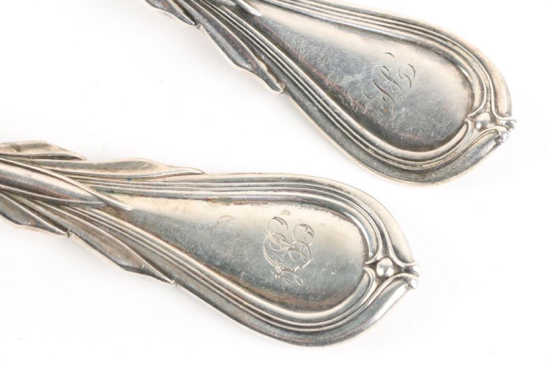 Adams Sterling Silver Flatware - 10
