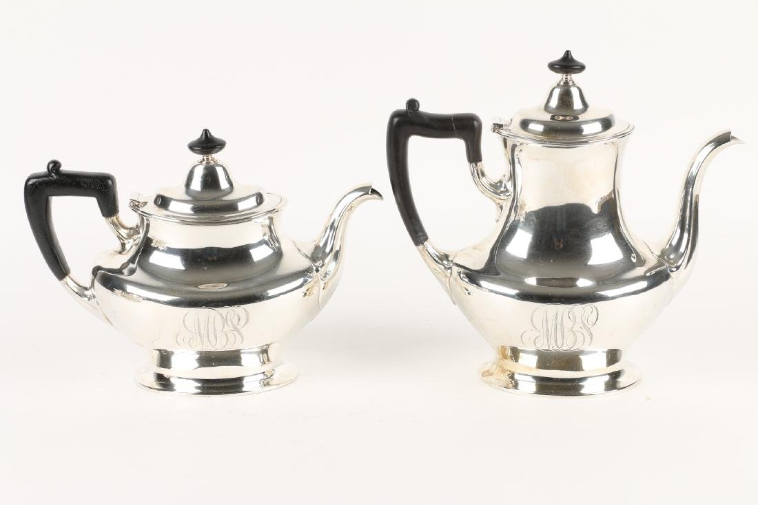 Sterling Silver Tea Service - 3