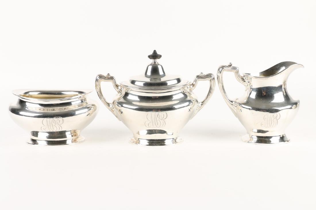 Sterling Silver Tea Service - 7