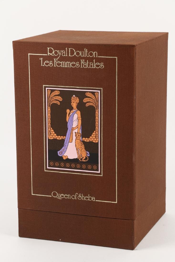 """Royal Doulton """"Queen of Sheba"""" Figurine - 11"""