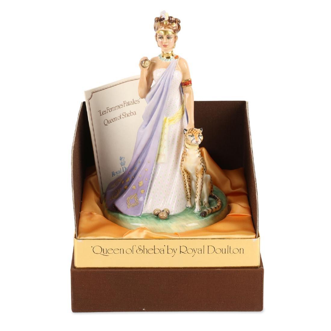"""Royal Doulton """"Queen of Sheba"""" Figurine"""