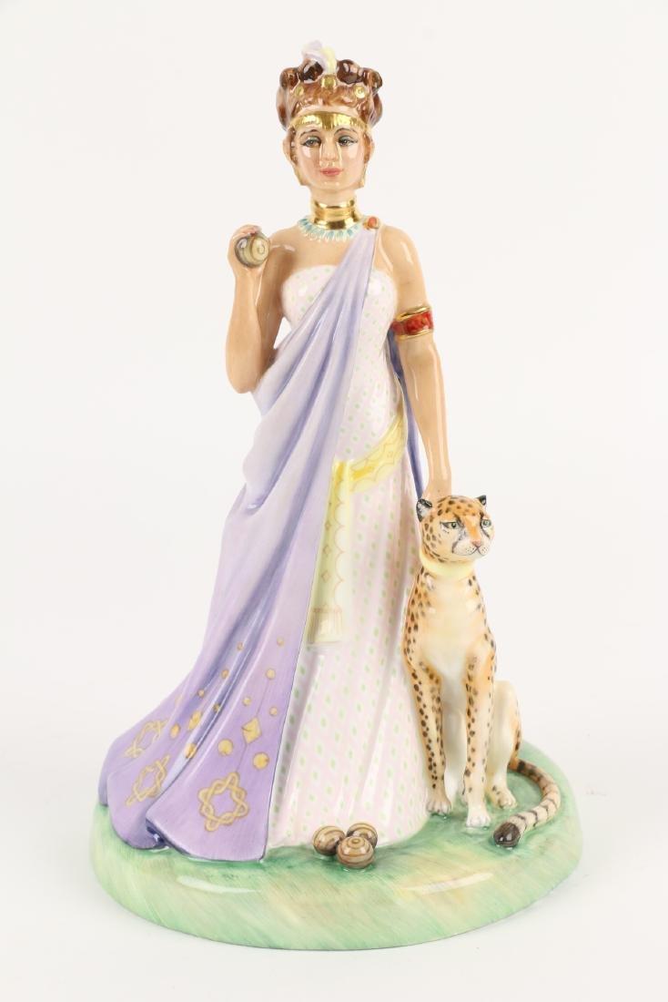 """Royal Doulton """"Queen of Sheba"""" Figurine - 3"""