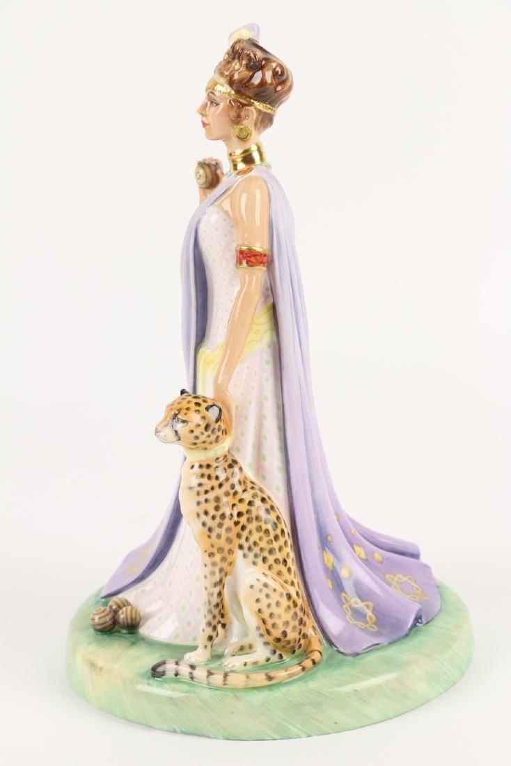 """Royal Doulton """"Queen of Sheba"""" Figurine - 4"""