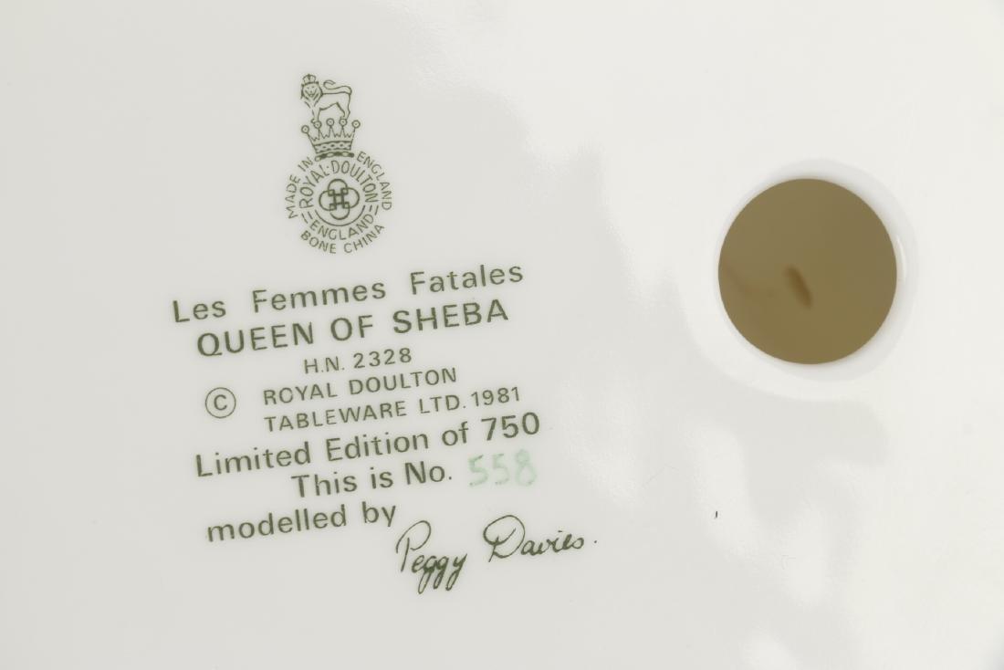 """Royal Doulton """"Queen of Sheba"""" Figurine - 7"""
