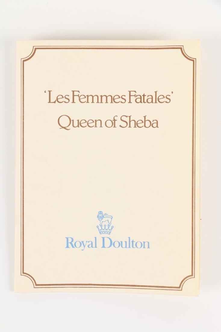 """Royal Doulton """"Queen of Sheba"""" Figurine - 8"""