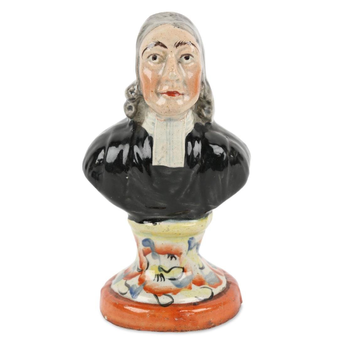 Staffordshire Figurine Bust