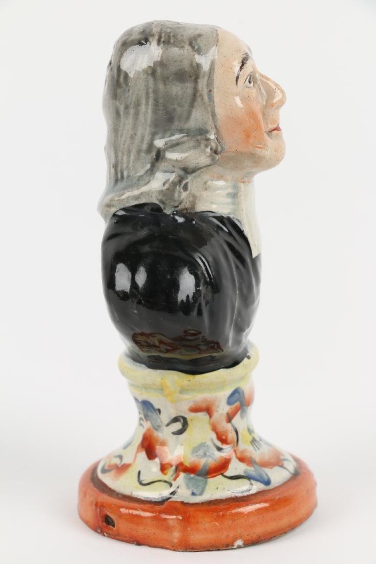 Staffordshire Figurine Bust - 4