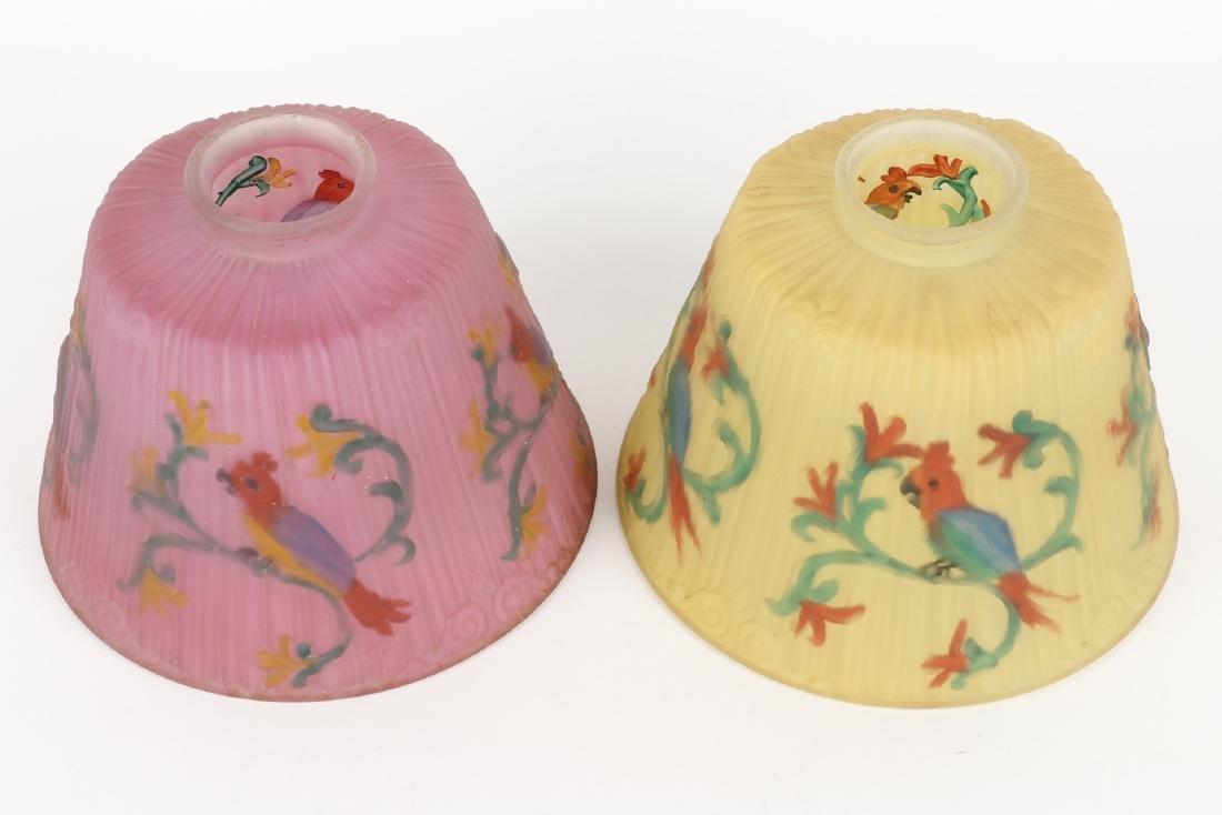 Art Glass Lamp Shades - 2