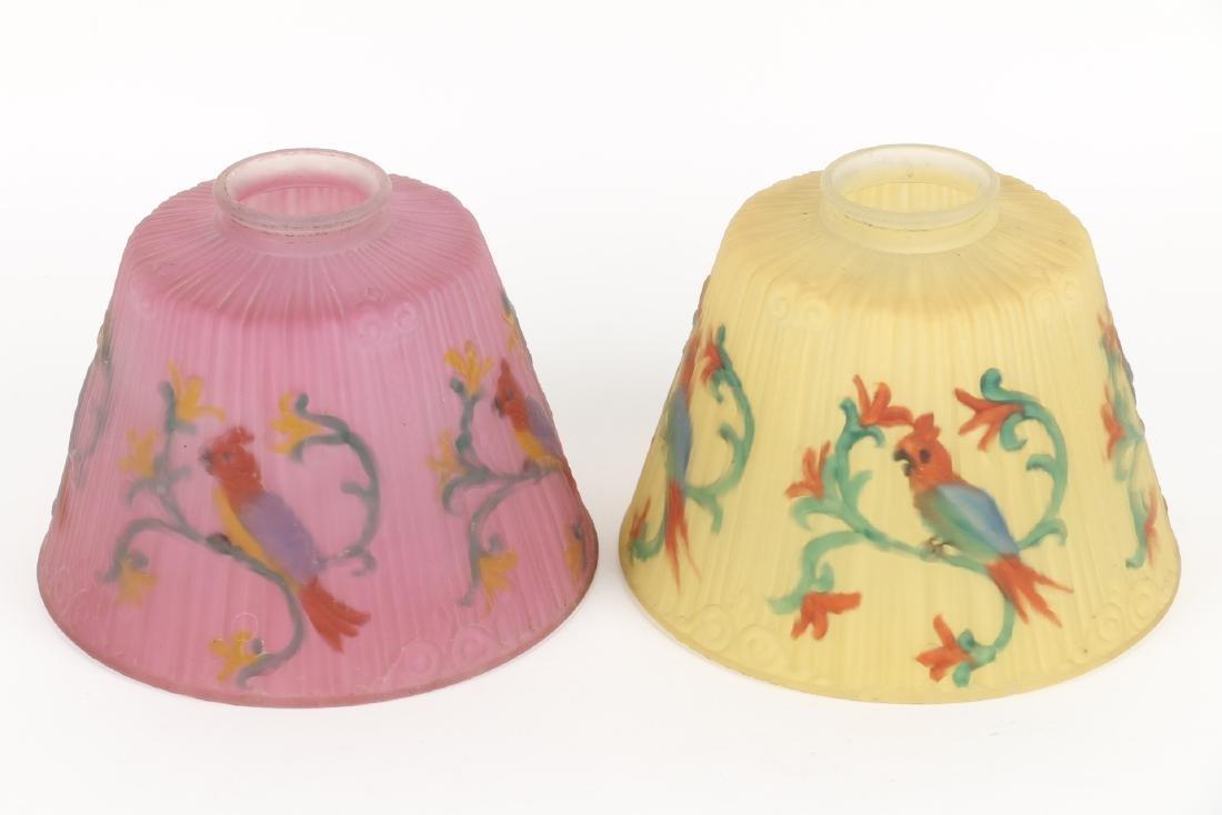 Art Glass Lamp Shades - 4