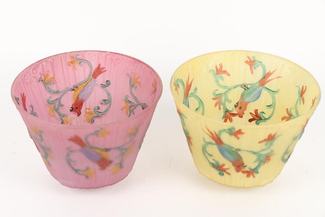 Art Glass Lamp Shades - 5