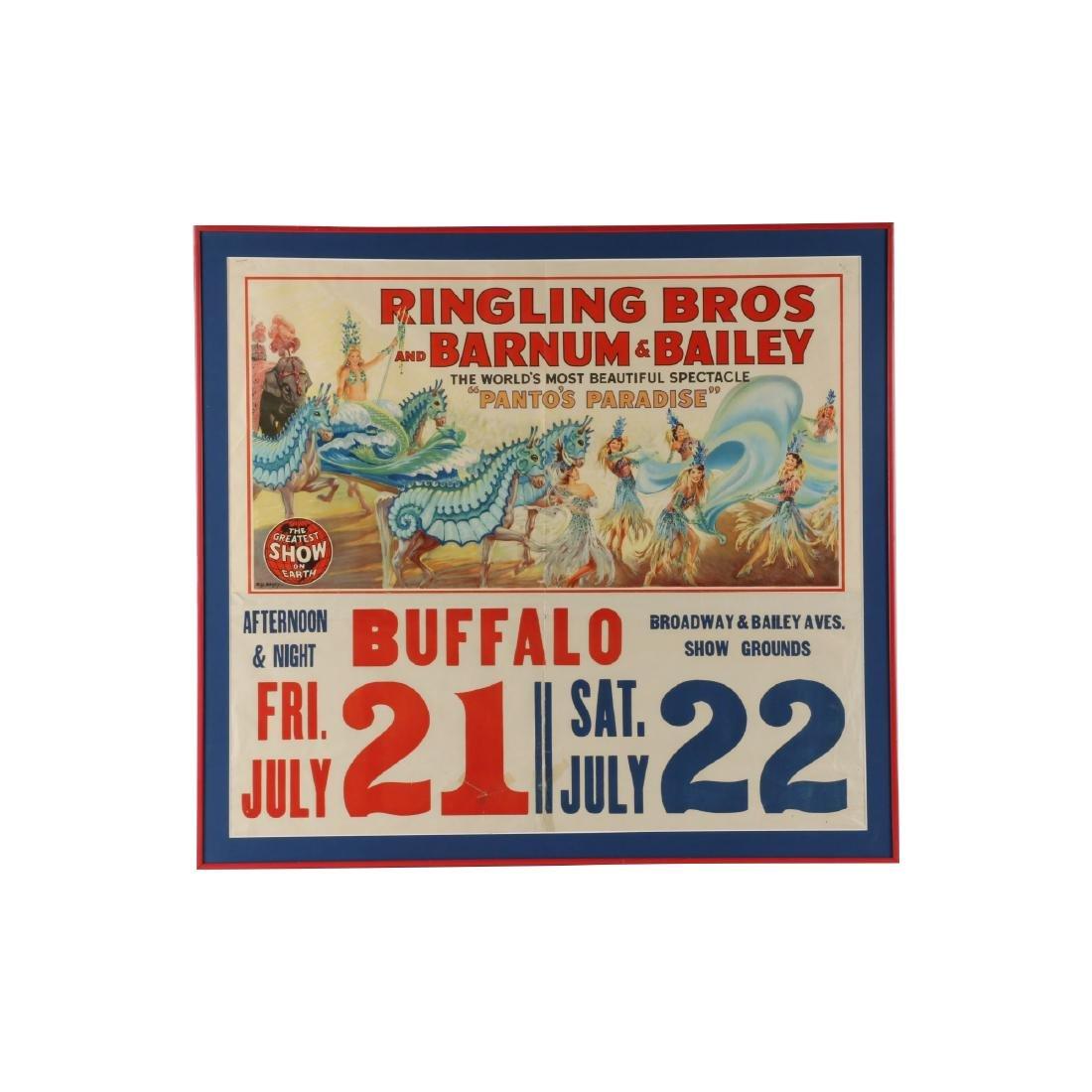 Ringling, Barnum & Bailey Circus Poster