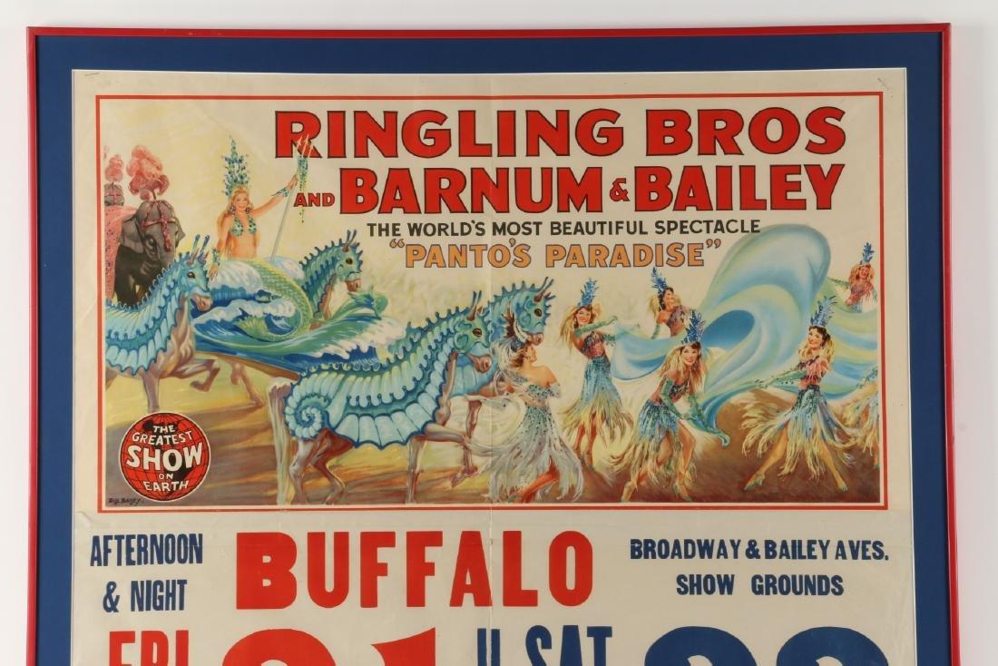 Ringling, Barnum & Bailey Circus Poster - 2