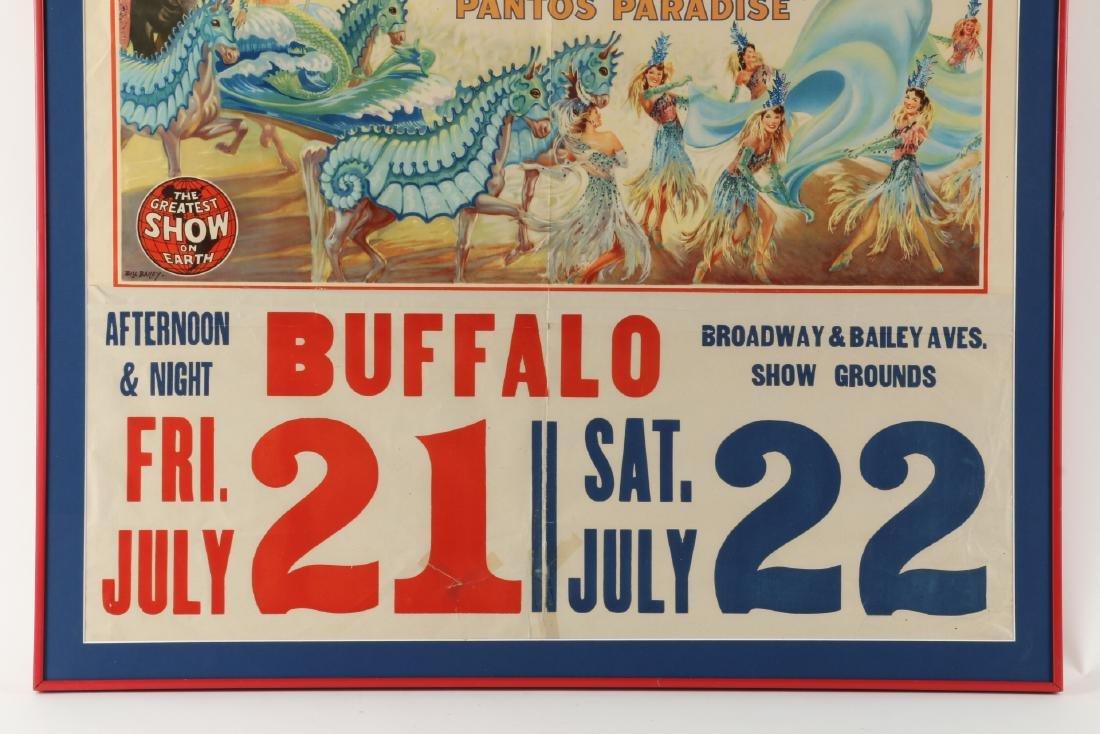 Ringling, Barnum & Bailey Circus Poster - 3