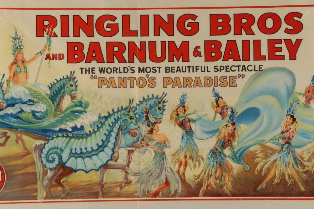Ringling, Barnum & Bailey Circus Poster - 4