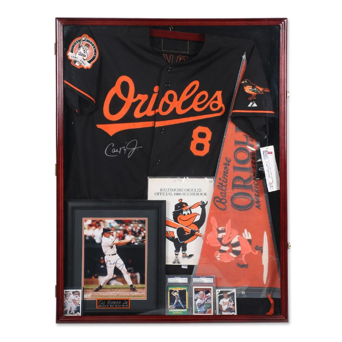 Cal Ripken Jr. & 1966 Orioles Lot