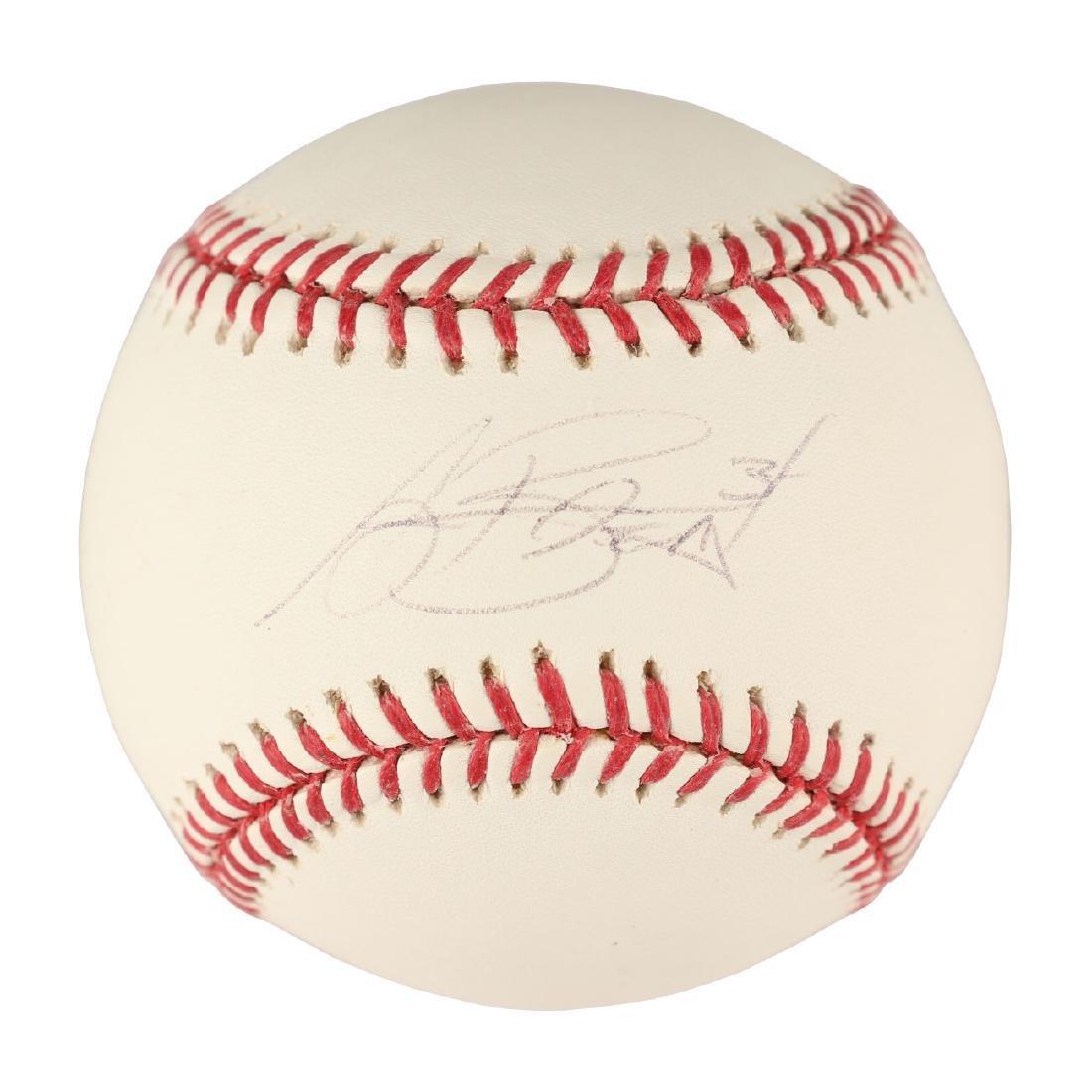 Jay Burnett Signed Baseball