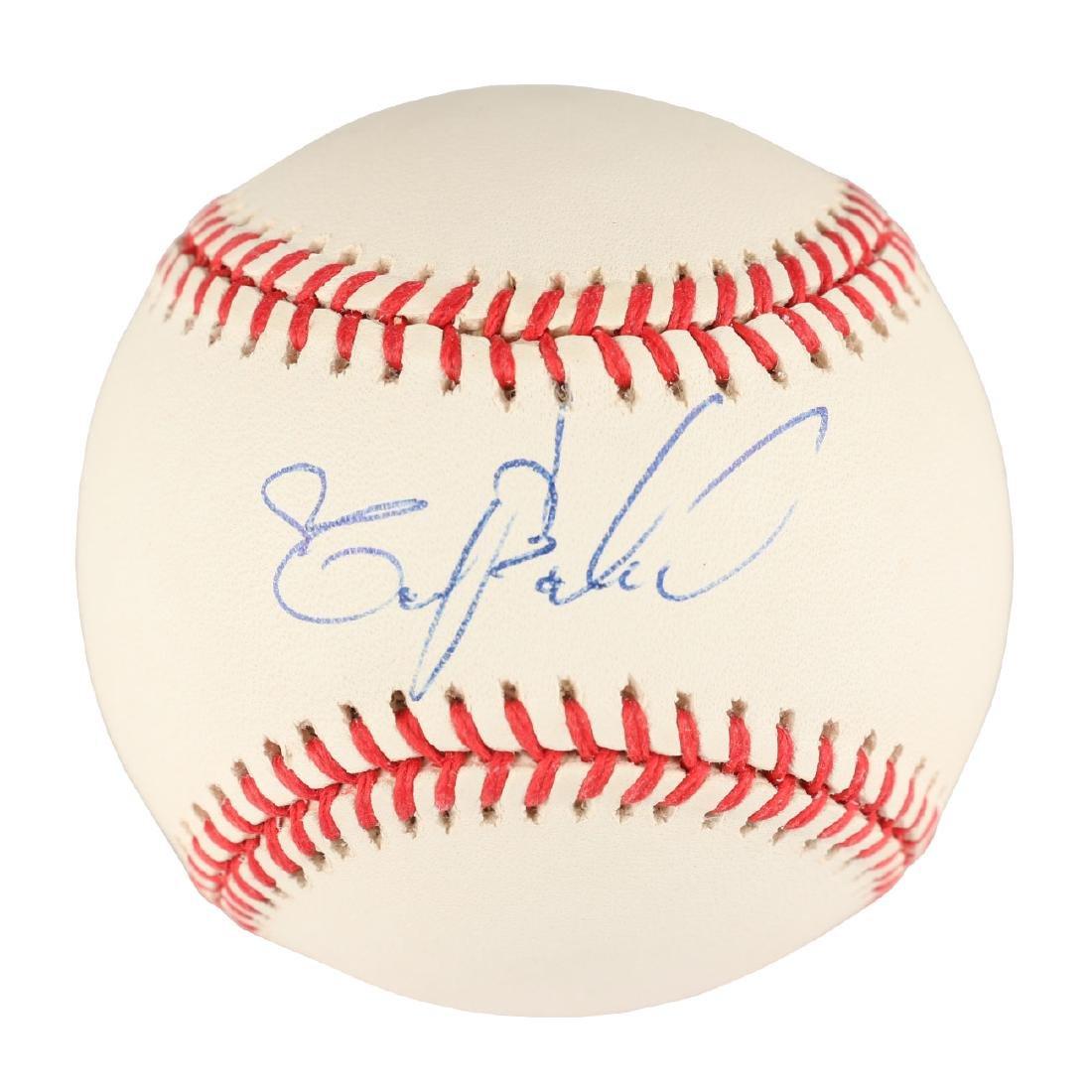 Tony Bautista Signed Baseball