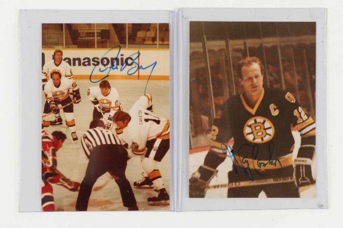 8 x 1969-2011 Signed Hockey Cards, Photograph Signed - 4