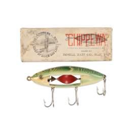Chippewa in Fancy Green Back