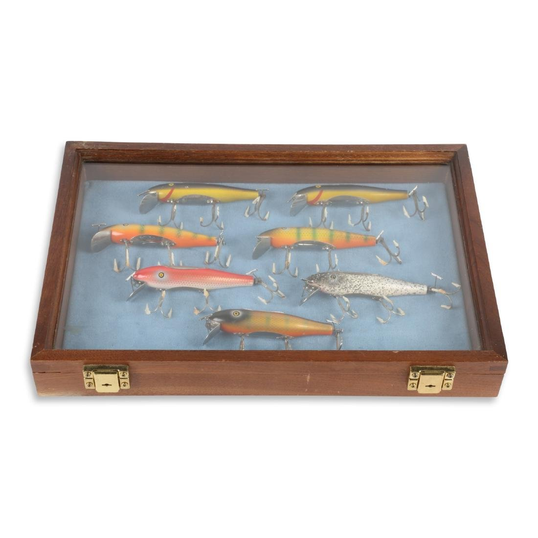 Pflueger Musky Mustangs With Display Case
