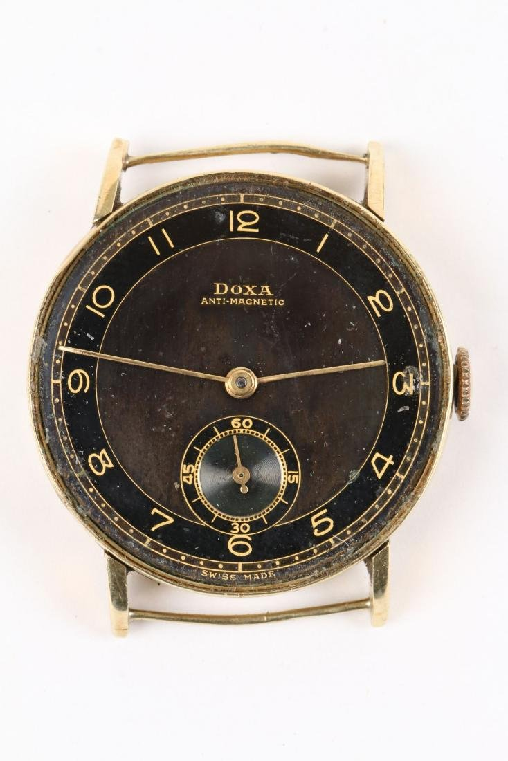 Doxa, 14K Anti-Magnetic, WWII-Era - 5