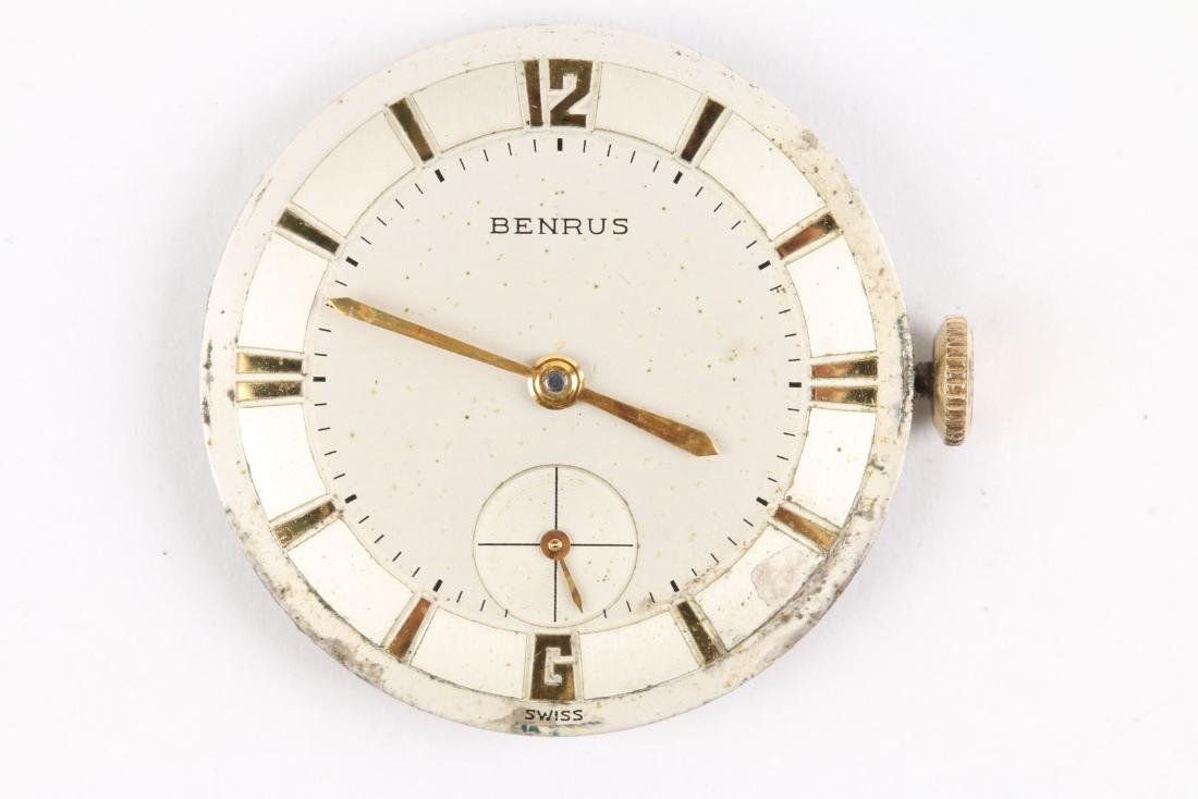 Benrus, 14K Gold, Ref. DN21 - 7