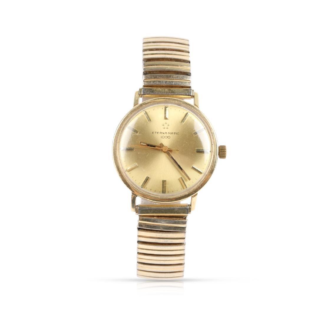 "Eternamatic, 14K ""1000"", Ref. Wristwatch"