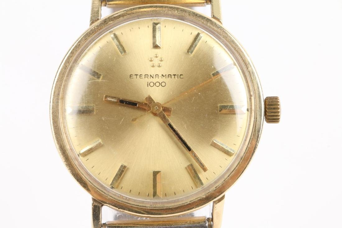 "Eternamatic, 14K ""1000"", Ref. Wristwatch - 2"
