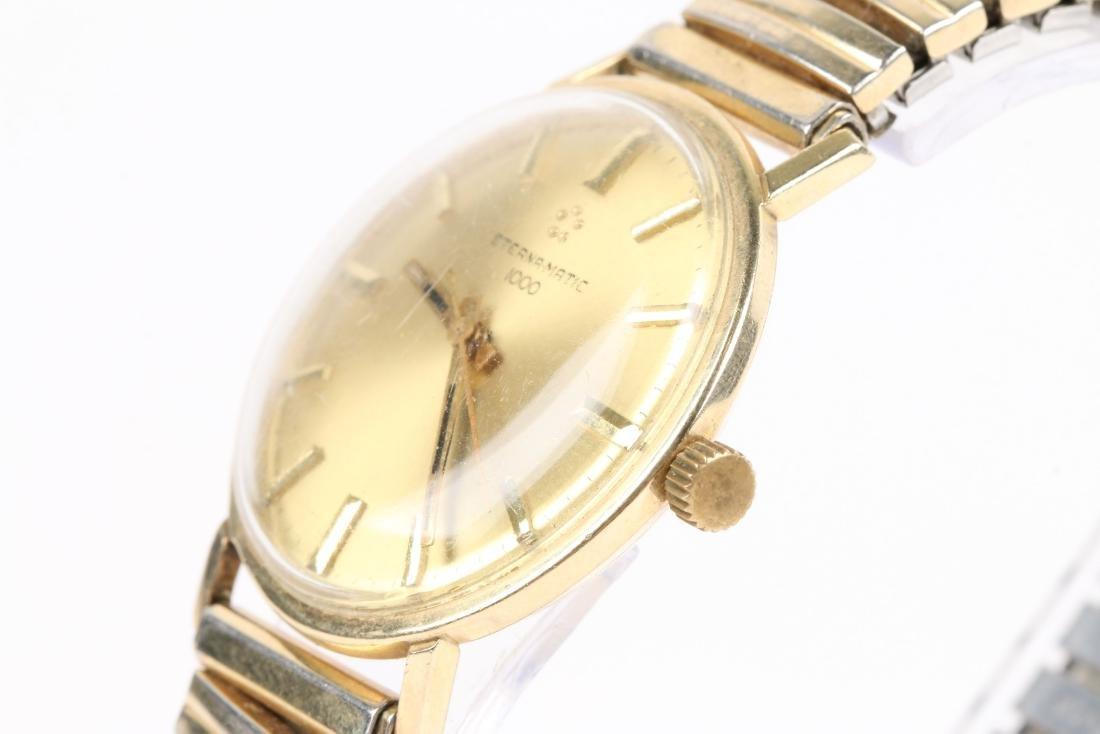 "Eternamatic, 14K ""1000"", Ref. Wristwatch - 3"