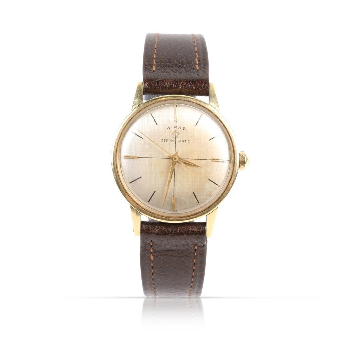 Birks, 14K Eternamatic Wristwatch
