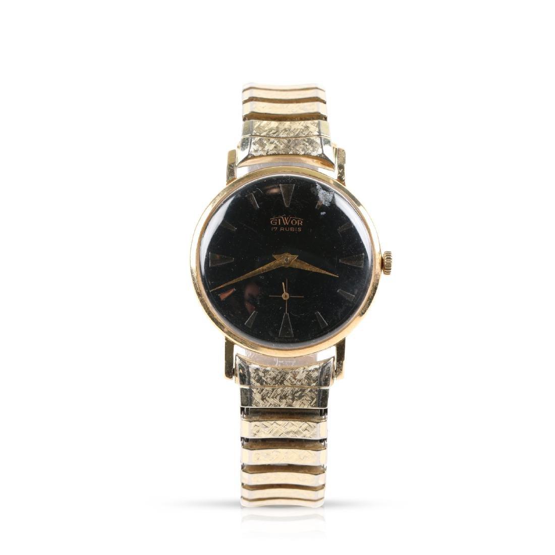 Swiss, 18K Giwor Wristwatch