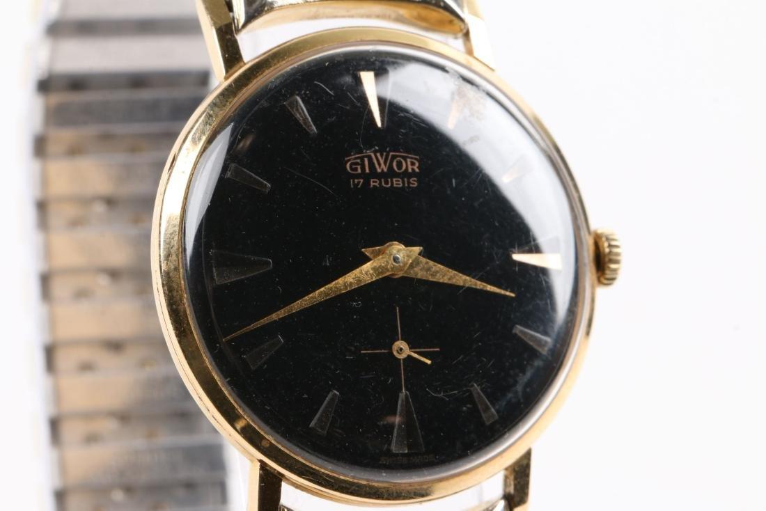 Swiss, 18K Giwor Wristwatch - 2