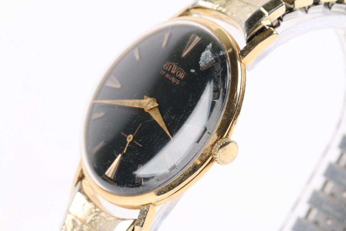Swiss, 18K Giwor Wristwatch - 3