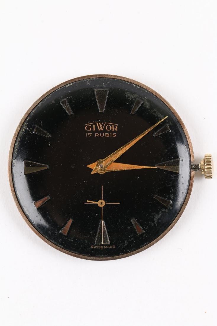 Swiss, 18K Giwor Wristwatch - 8
