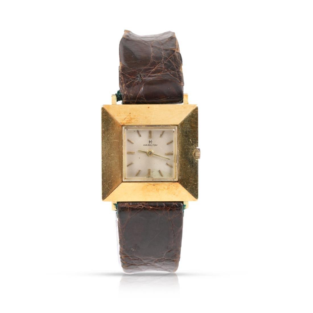 Hamilton, 18K Lady's Cocktail Watch