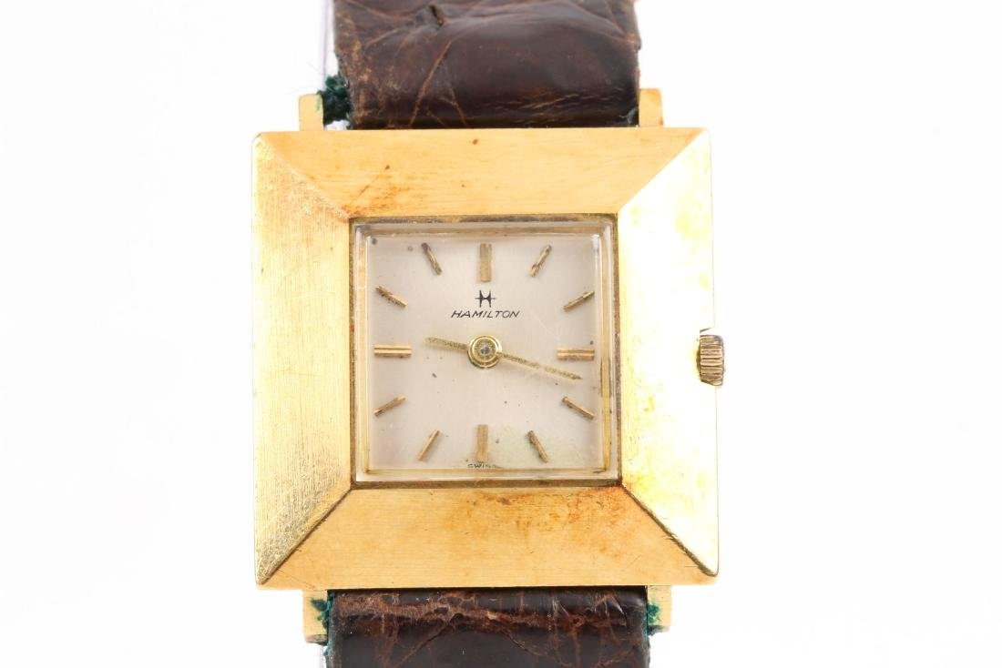 Hamilton, 18K Lady's Cocktail Watch - 2