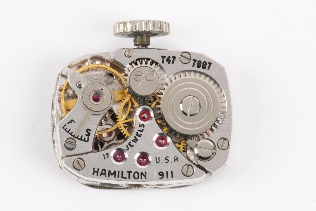 Hamilton, Lady's Platinum Cocktail Watch - 8