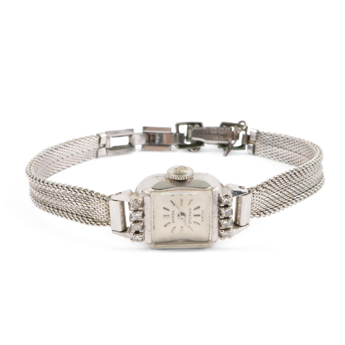Birks , 14K Eterna Cocktail Wristwatch
