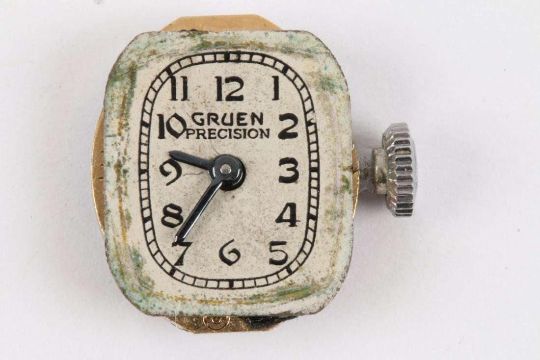 "Gruen, 14K ""Precision"" Lady's Cocktail Watch - 7"