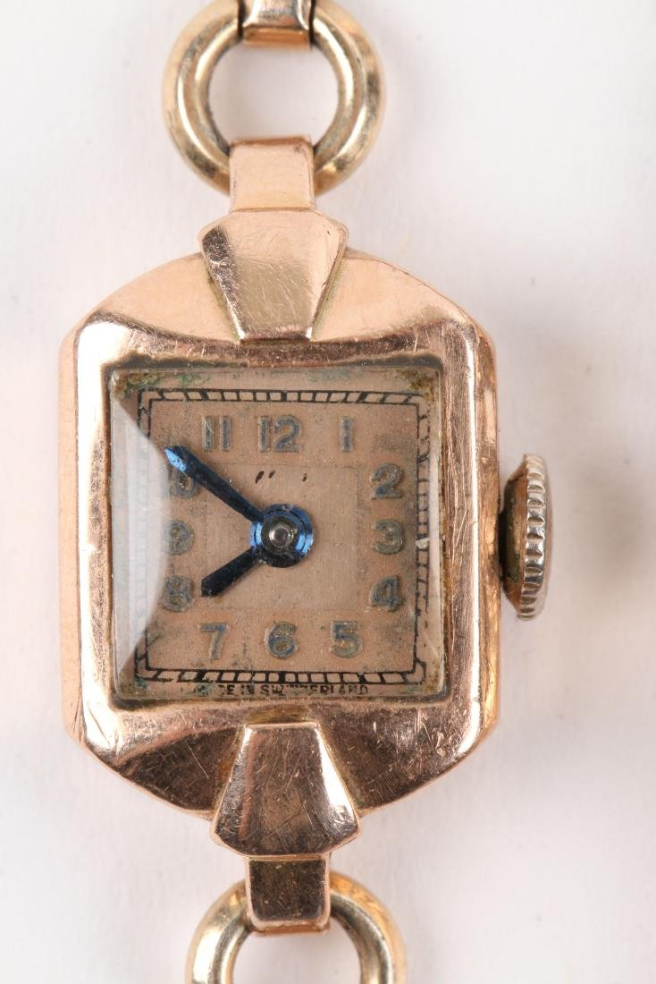 Swiss, Lady's Gold Cocktail Watches - 3
