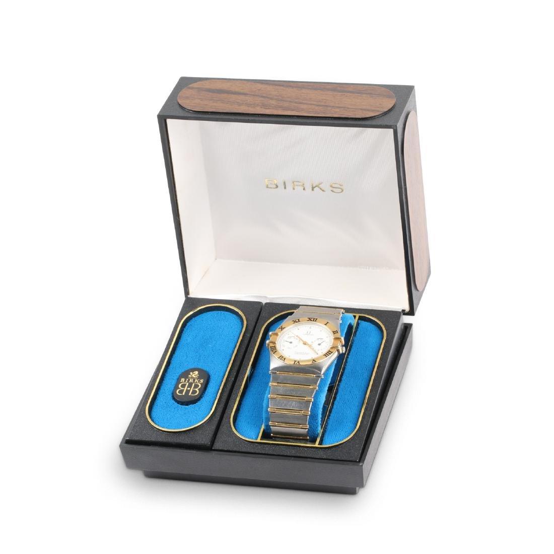 Omega , 18K/Stainless Constellation Chronometer